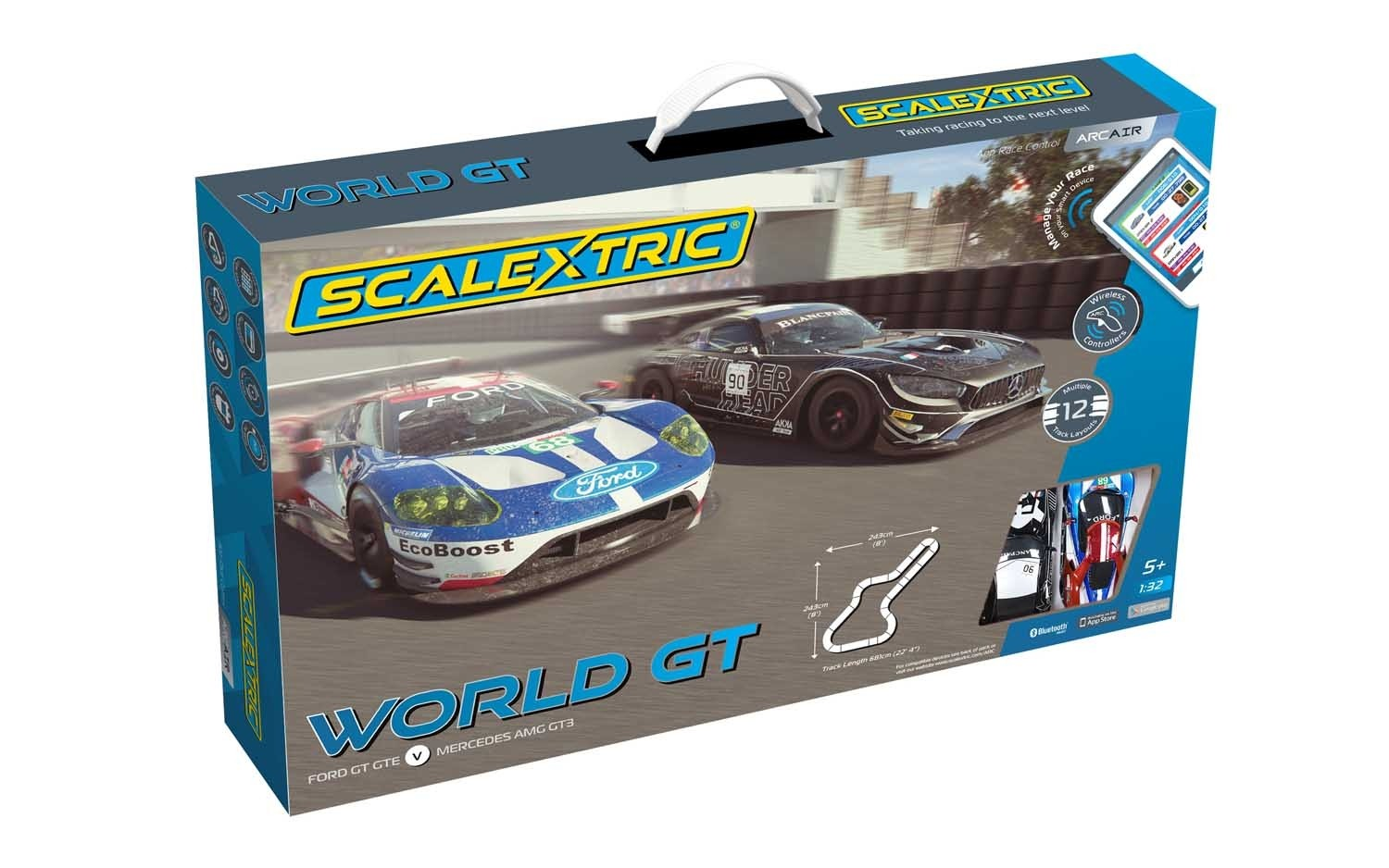 ARC AIR World GT (Ford GT GTE v Mercedes AMG GT3)