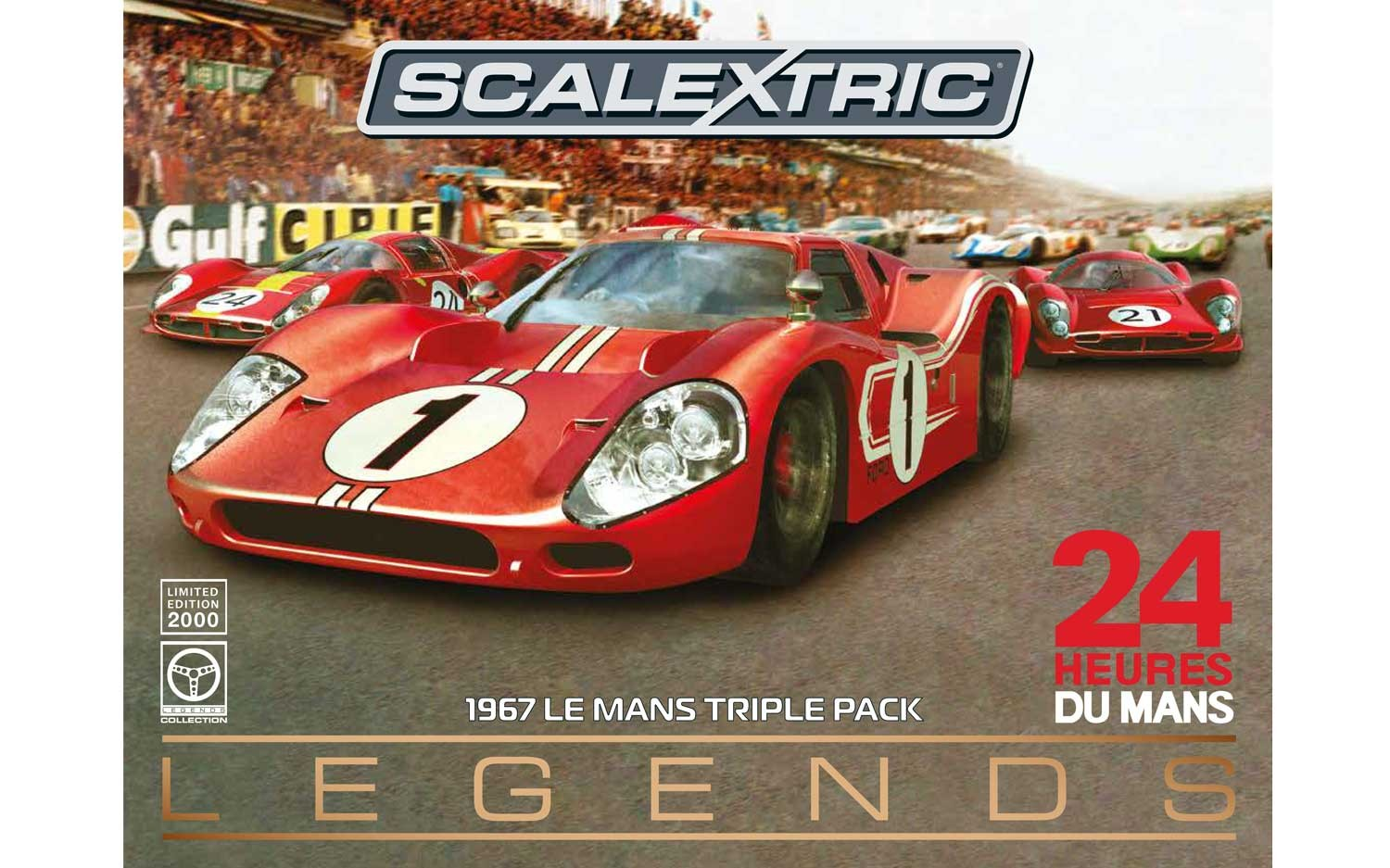 Legends 1967 Le Mans Triple Pack - Limited Edition
