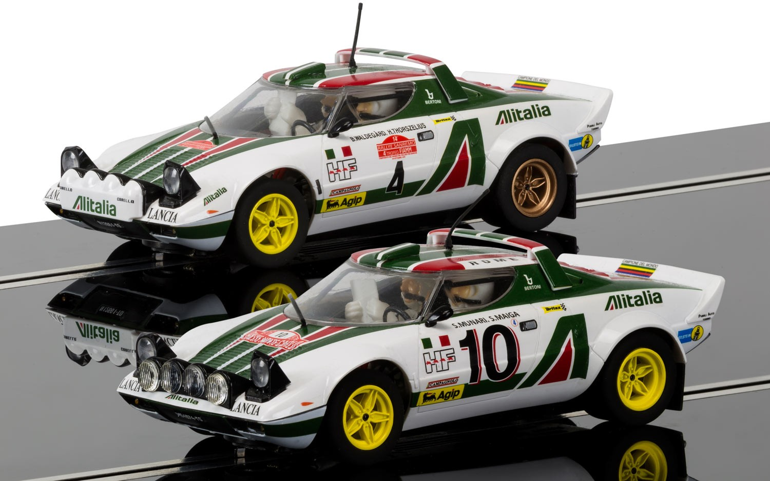 Legends Lancia Stratos 1976 Rally Champions Twinpack - Limited E
