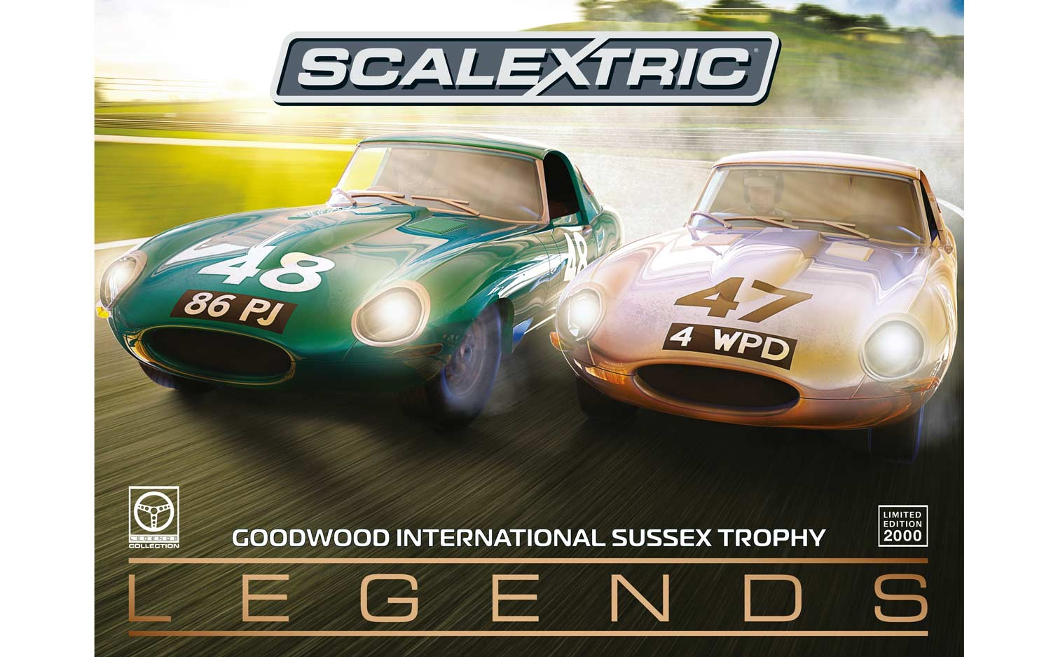 Legends Jaguar E-type 1963 International Trophy Twin Pack - Limi