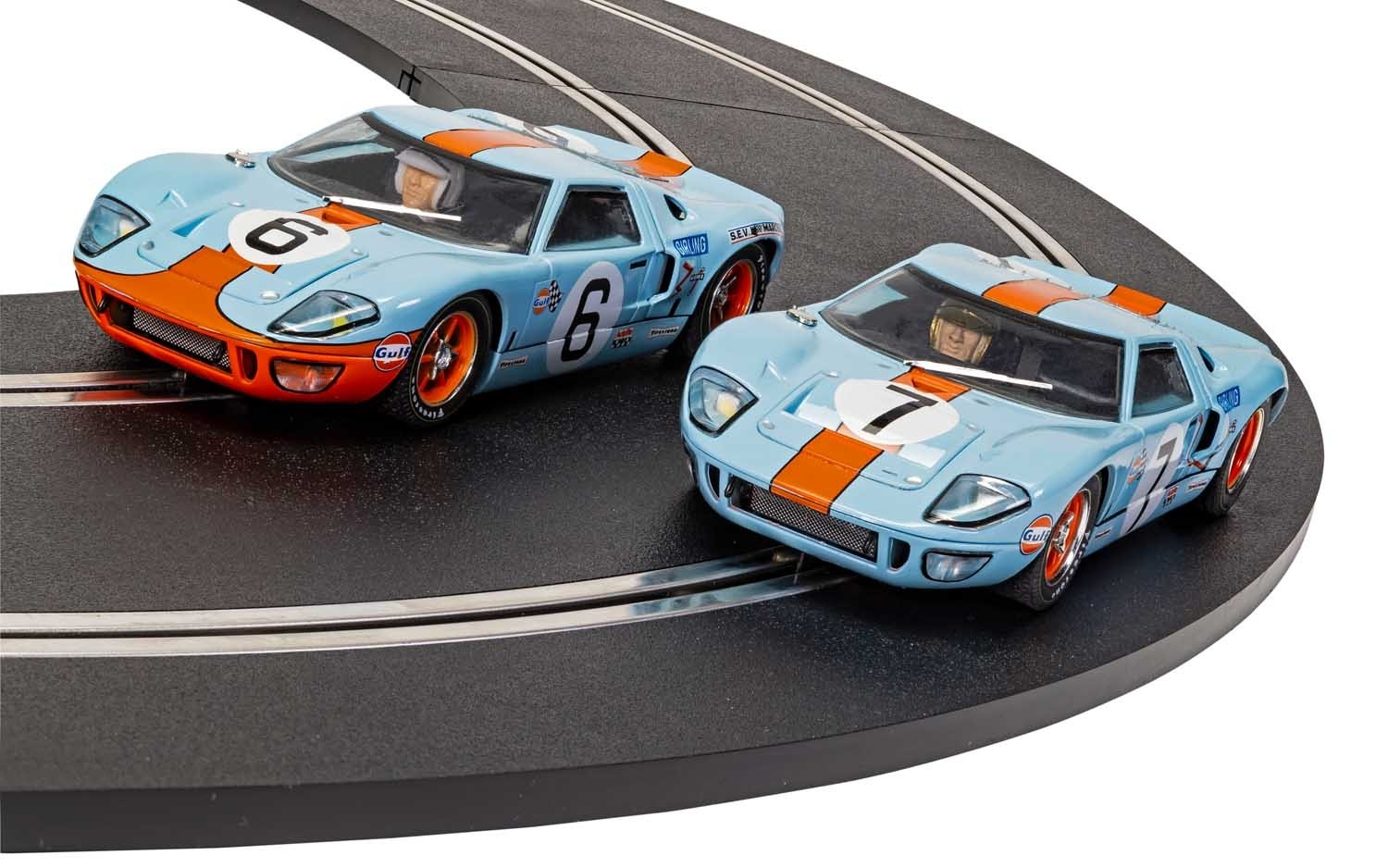 FORD GT40 1969 GULF TWIN PACK