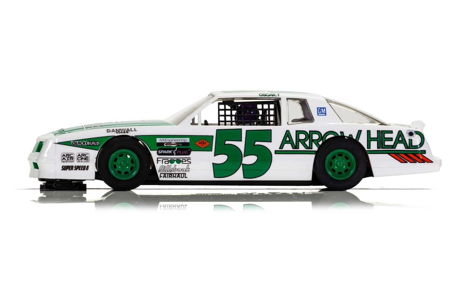 CHEVROLET MONTE CARLO - GREEN & WHITE NO.55