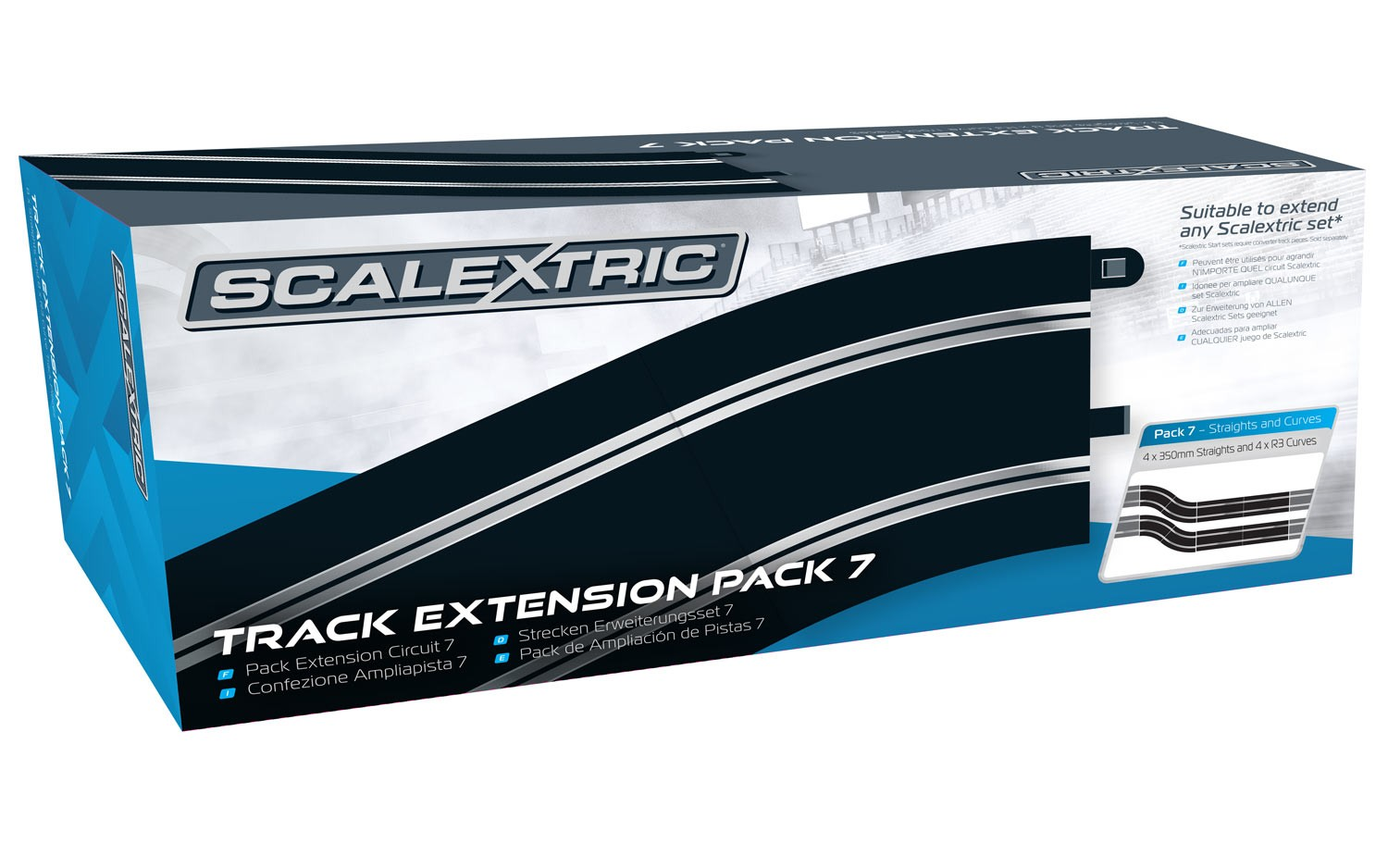 Scalextric Track Extension Pack 6